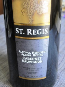 St. Regis Non-Alcoholic Cabernet Sauvignon