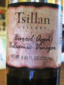 Nectar of the gods, aged balsamic vinegar. Photo by Brenna Arnesen.